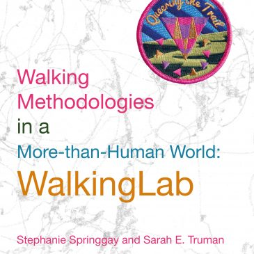 Walking Methodologies book out in January