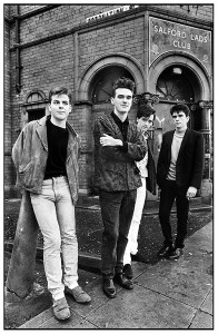 The Smiths at Salford Lads Club (photo by Stephen Wright)