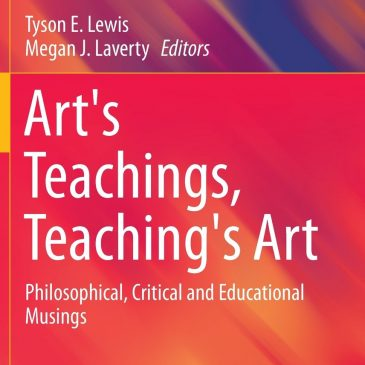 Chapter in Art's Teaching Teaching's Art
