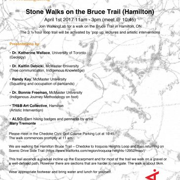 Bruce Trail Walking-Event with WalkingLab